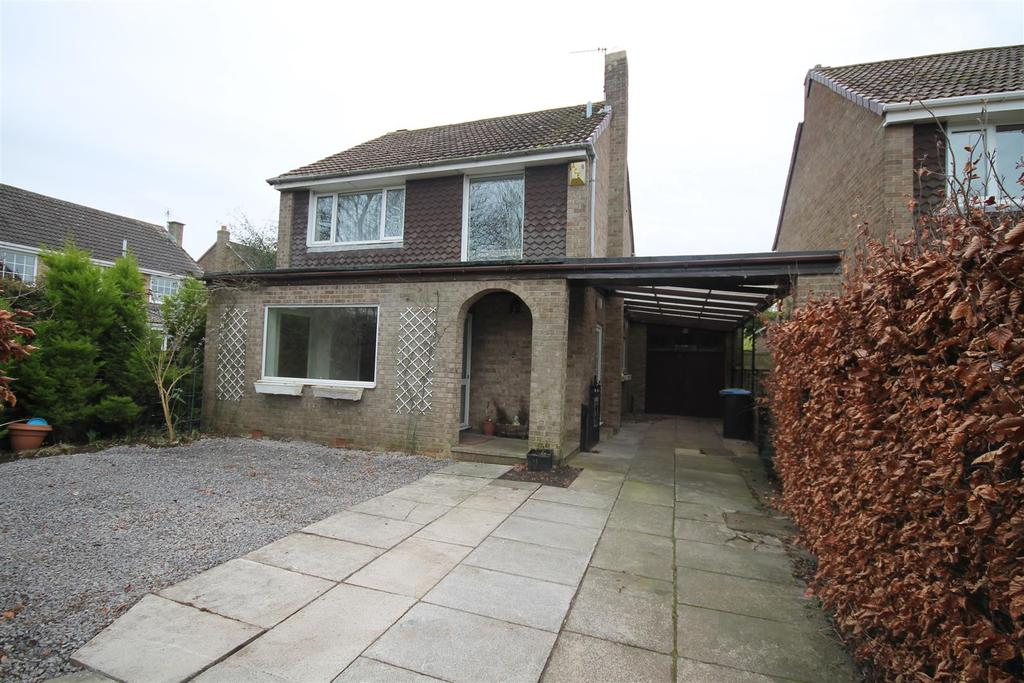 3 Bedrooms Detached House for sale in Hadleigh Close, Sedgefield