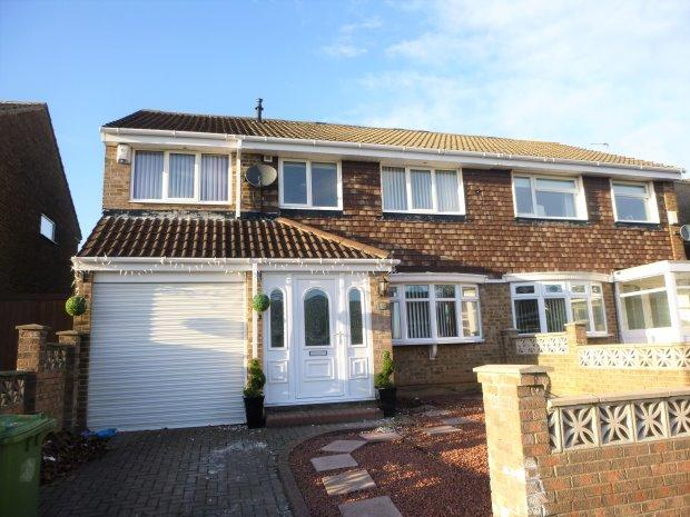 3 Bedrooms Semi Detached House for sale in BOWBURN AVENUE, WEAR VIEW, SUNDERLAND NORTH