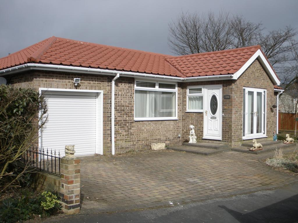 3 Bedrooms Detached Bungalow for sale in Green Court, Esh Village, Co Durham DH7