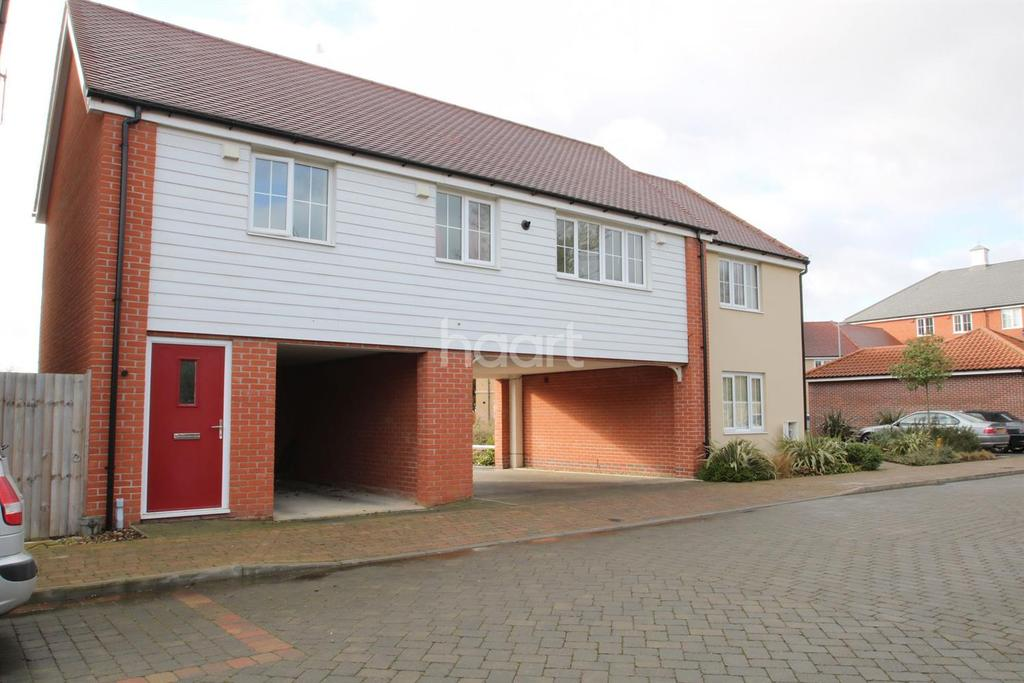 2 Bedrooms Flat for sale in Jubilee Crescent, Needham Market