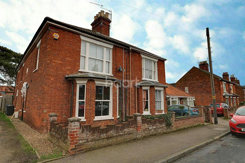 2 Bedrooms Semi Detached House for sale in Alexandra Road, Beccles