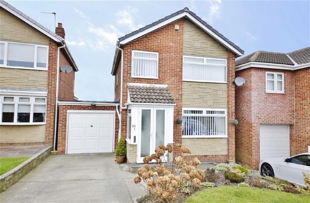 3 Bedrooms Detached House for sale in Goathland Drive, Burdon Park, Sunderland, SR3