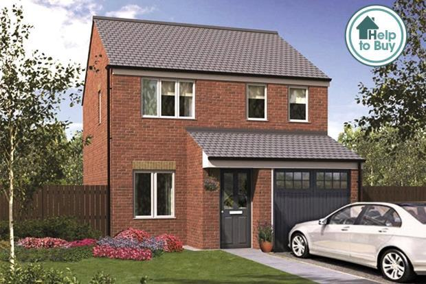 3 Bedrooms Detached House for sale in The Tyrell, Orchid Meadows, Minsterley