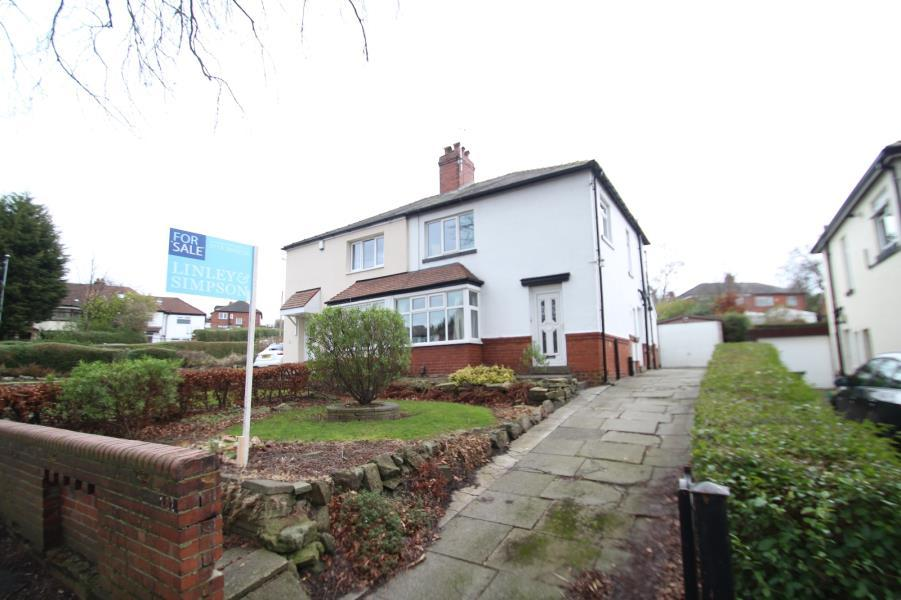 3 Bedrooms Semi Detached House for sale in STAINBECK ROAD, CHAPEL ALLERTON, LEEDS, LS7 2LZ