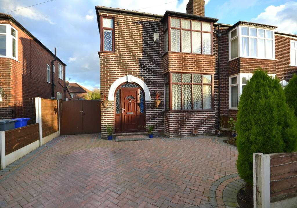 3 Bedrooms Semi Detached House for sale in Merston Drive, East Didsbury