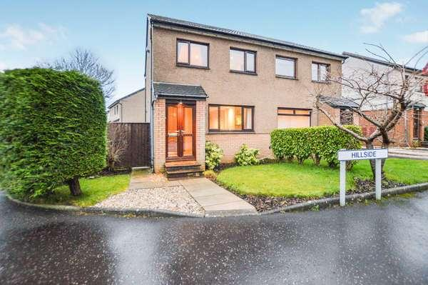 2 Bedrooms Semi-detached Villa House for sale in 1 Hillside, West Kilbride, KA23 9NZ
