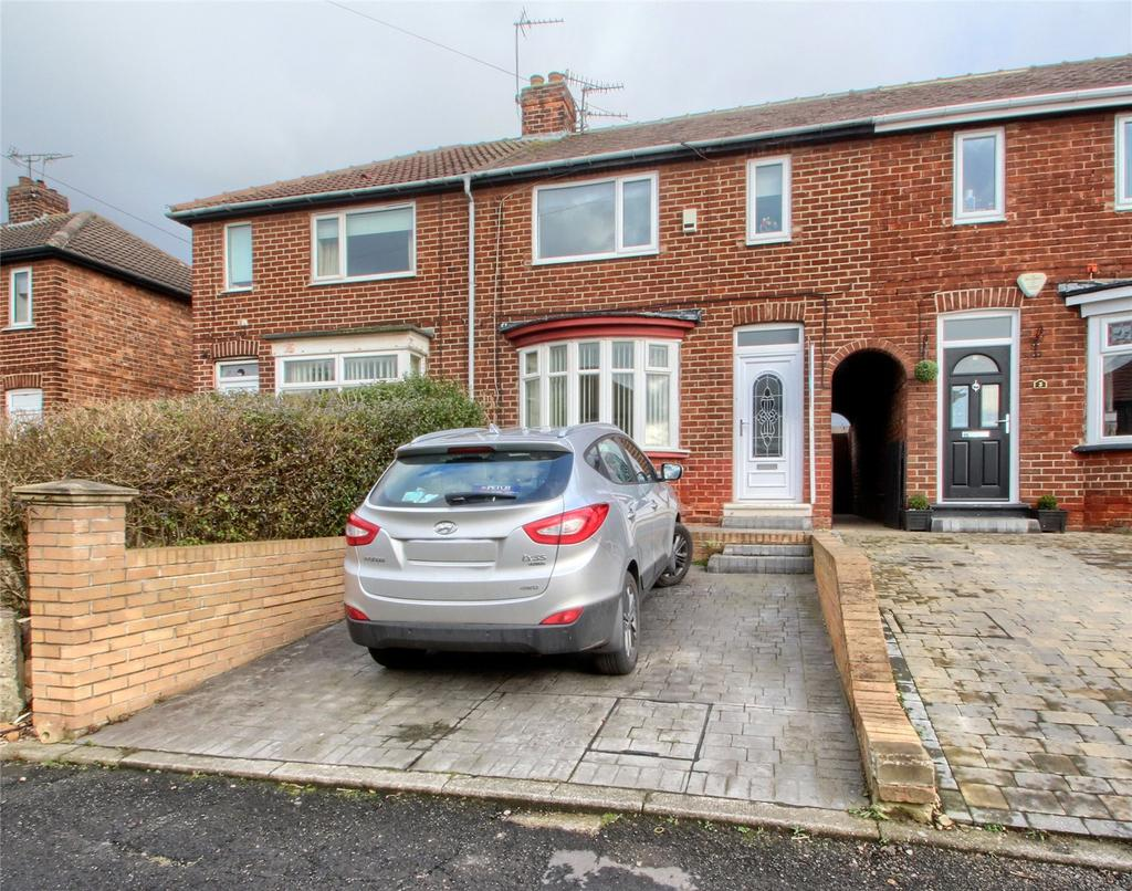 3 Bedrooms Terraced House for sale in Thornton Grove, Norton