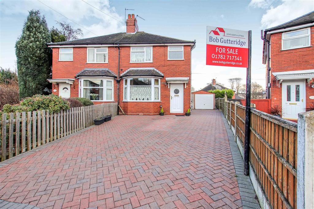 3 Bedrooms Semi Detached House for sale in Quinton Grove,Milehouse, Newcastle, Staffs