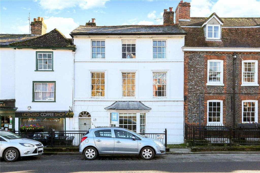4 Bedrooms Terraced House for sale in High Street, Marlborough, Wiltshire