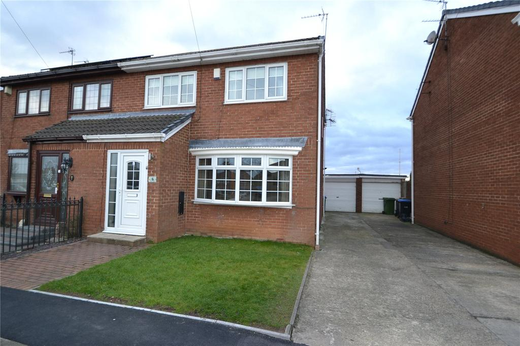4 Bedrooms Semi Detached House for sale in Grove Court, Shotton Colliery, Co.Durham, DH6