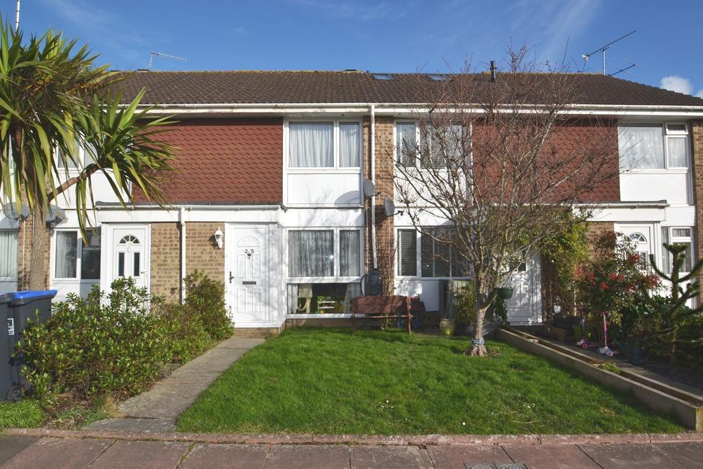 2 Bedrooms Terraced House for sale in Montreal Way, Worthing, West Sussex, BN13 2RY