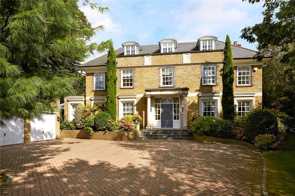 5 Bedrooms Detached House for sale in Fairmile Court, Cobham, Surrey, KT11