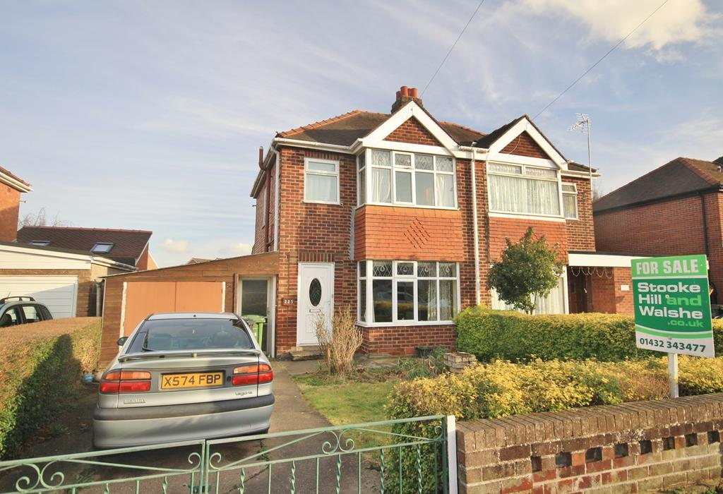 3 Bedrooms Semi Detached House for sale in Ross Road, Hereford, HR2