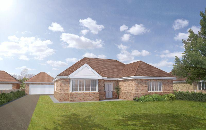 3 Bedrooms Bungalow for sale in Plot 1a, The Larch, Tower Drive, Woodhall Spa