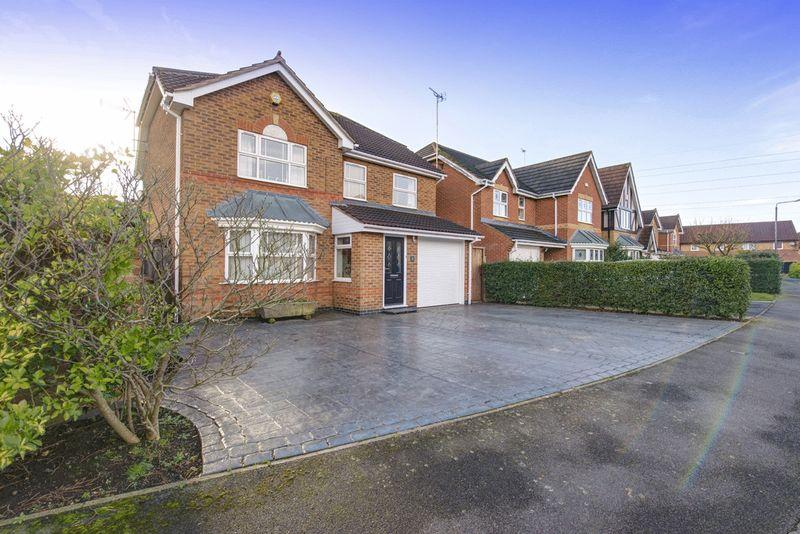 4 Bedrooms Detached House for sale in The Greenway, Woods Meadow, Elvaston, DE72 3UL