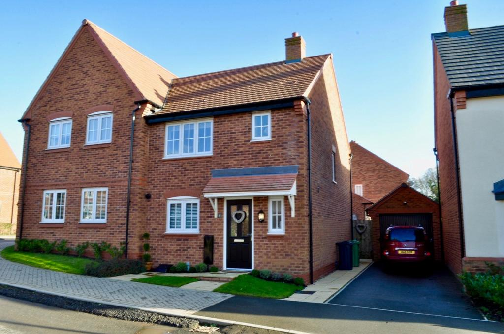 3 Bedrooms Semi Detached House for sale in Golden Nook Road, Cuddington, Northwich, CW8