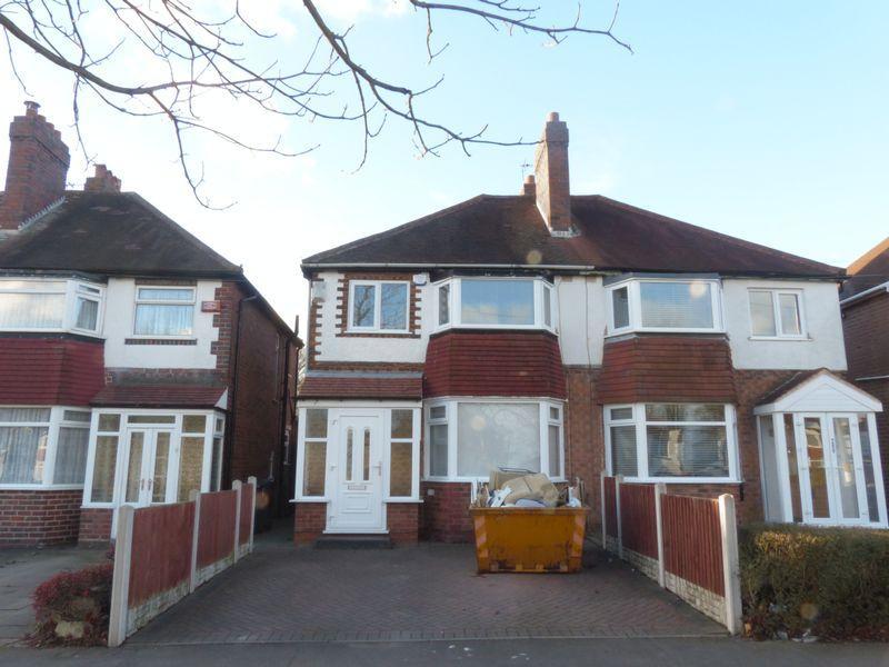 3 Bedrooms Semi Detached House for sale in Kingstanding Road, Birmingham