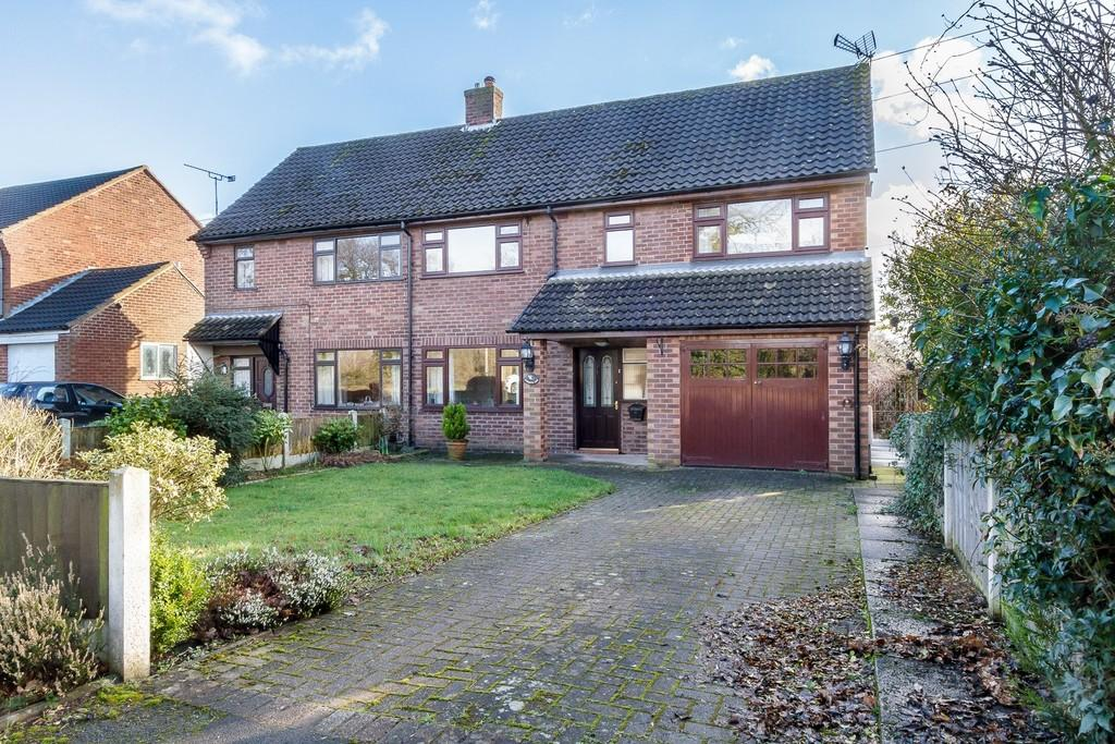 3 Bedrooms Semi Detached House for sale in Ansteys Lea, Marton, CW7 2QE