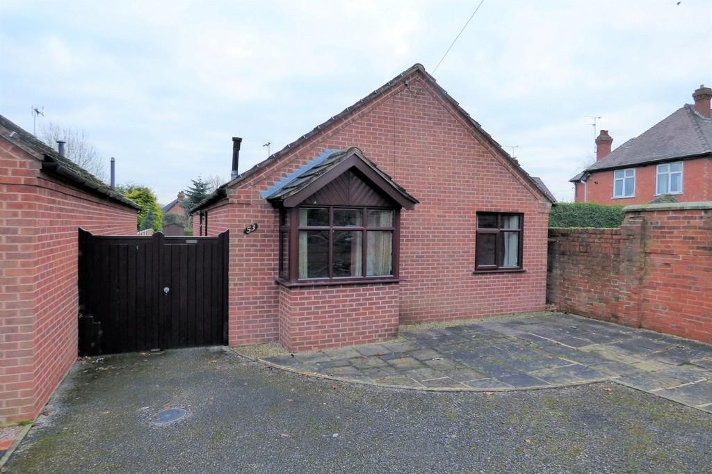 3 Bedrooms Detached Bungalow for sale in Stone Road, Uttoxeter