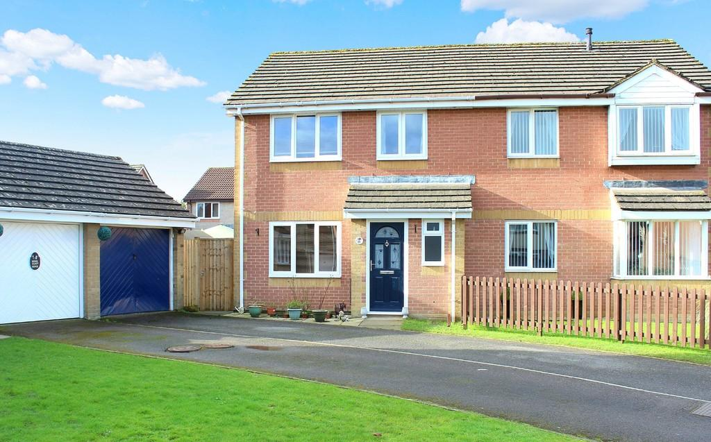 3 Bedrooms Semi Detached House for sale in Amulet Way, Shepton Mallet