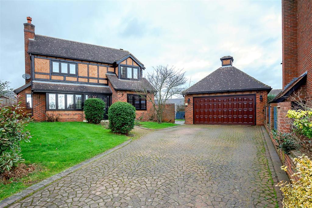 4 Bedrooms Detached House for sale in Vale Close, Lichfield