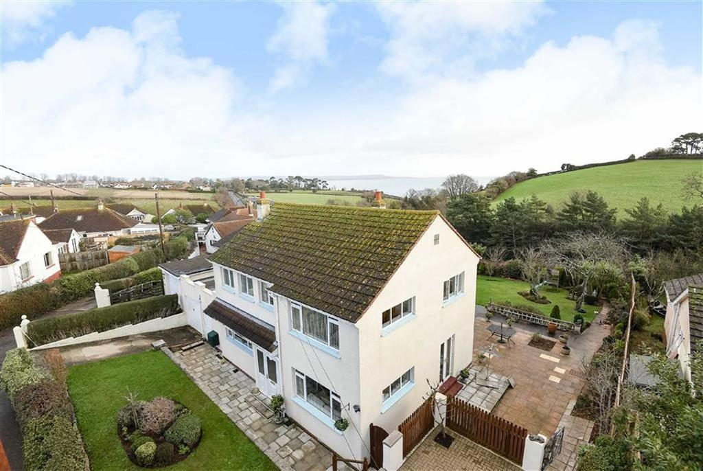 4 Bedrooms Detached House for sale in Rosyl Avenue, Holcombe, Dawlish, Devon, EX7