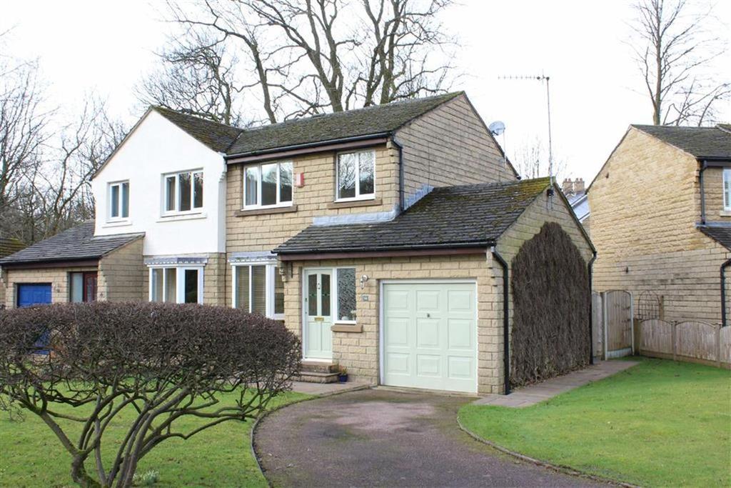 3 Bedrooms Semi Detached House for sale in Wood Gardens, Hayfield, High Peak, Derbyshire