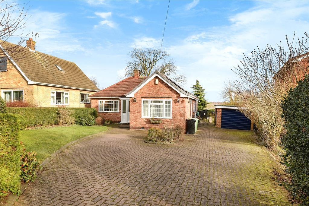 2 Bedrooms Detached Bungalow for sale in Reedings Road, Barrowby, NG32