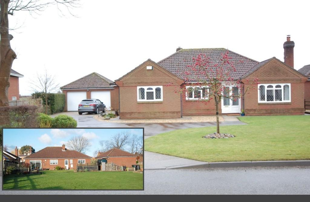 3 Bedrooms Detached Bungalow for sale in North Thoresby, Station Road