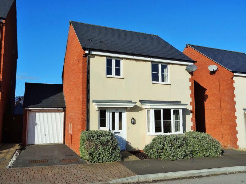 3 Bedrooms Detached House for sale in Sorrel Drive, Wilstock, Bridgwater