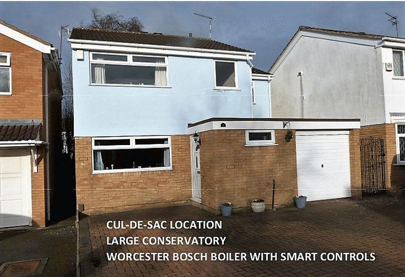 4 Bedrooms Detached House for sale in Crediton Close, Little Hill Wigston Leicestershire