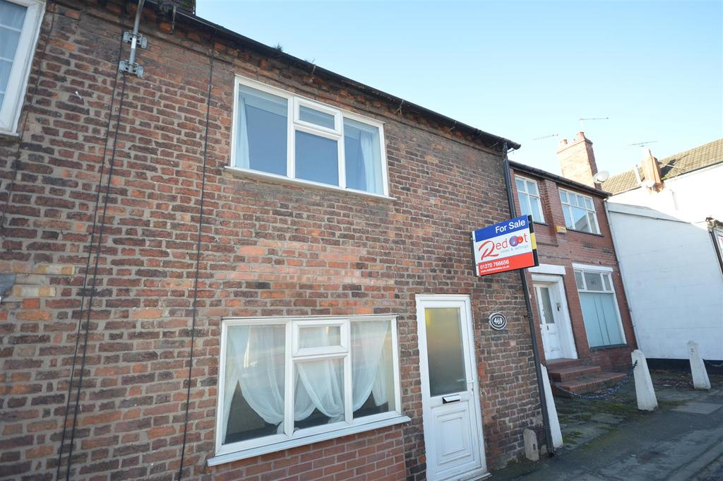 2 Bedrooms Terraced House for sale in 469 Crewe Road, Wheelock, Sandbach