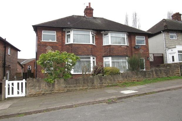 2 Bedrooms Semi Detached House for sale in Salcombe Road, Basford, Nottingham, NG5