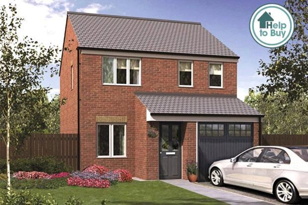 3 Bedrooms Detached House for sale in The Tyrell 2, Orchid Meadows, Minsterley