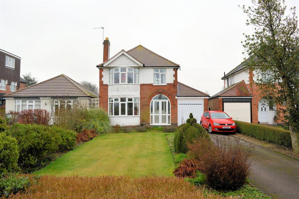 3 Bedrooms Detached House for sale in Ingarsby Lane, Houghton-On-The-Hill, Leicester