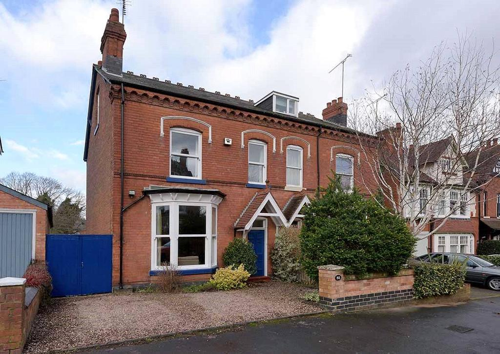 4 Bedrooms Semi Detached House for sale in Cambridge Road, Birmingham, West Midlands, B13