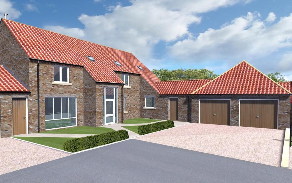 4 Bedrooms House for sale in The Brompton, Plot 10, Pecketts Yard, Sheriff Hutton, York
