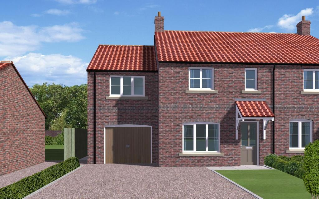 3 Bedrooms House for sale in The Bailey, Plot 3, Pecketts Yard, Sheriff Hutton, York