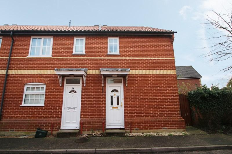 2 Bedrooms End Of Terrace House for sale in Willow Tree Way, Earls Colne, Colchester