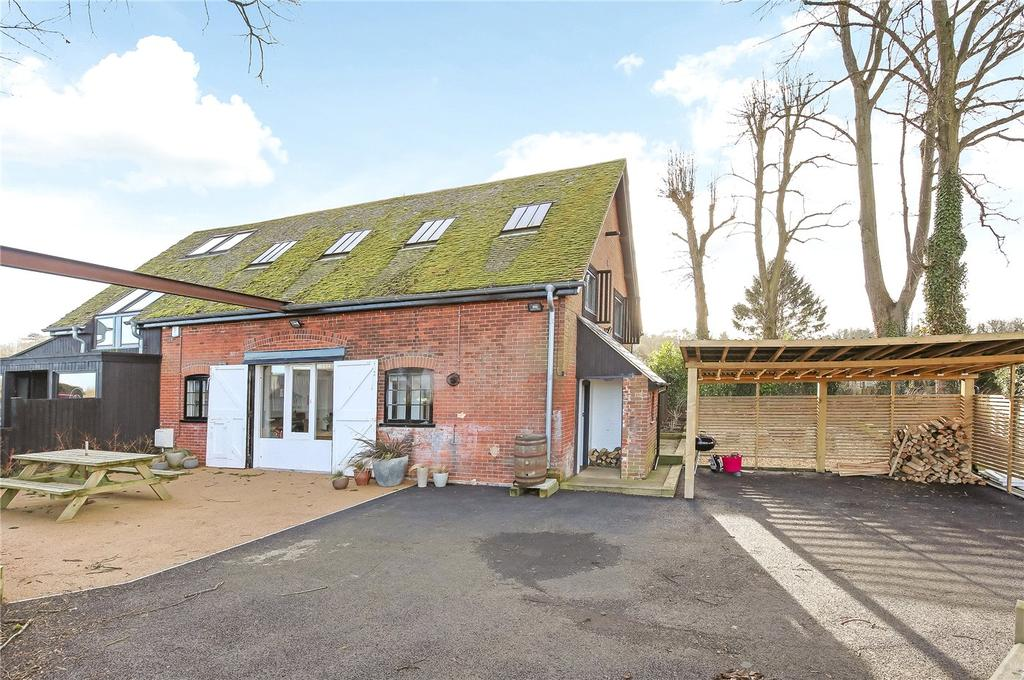 3 Bedrooms Semi Detached House for sale in Main Road, Littleton, Winchester, Hampshire, SO22