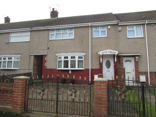 3 Bedrooms Terraced House for sale in TEMPEST ROAD, KING OSWY, HARTLEPOOL