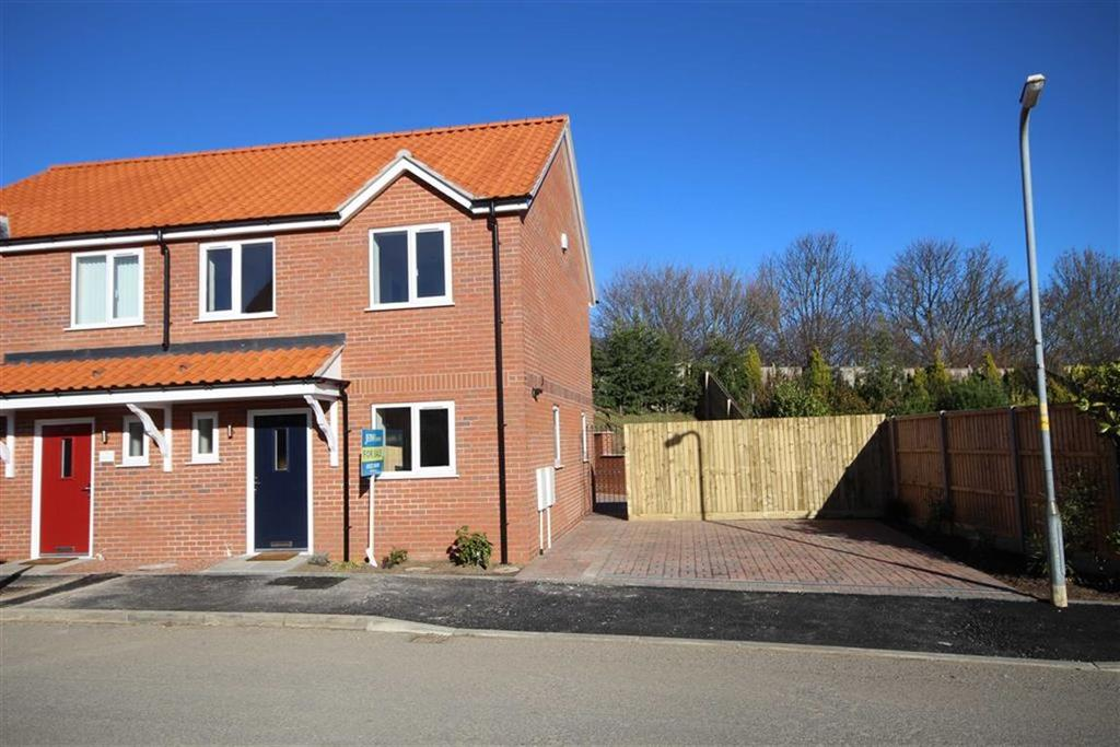 3 Bedrooms Semi Detached House for sale in Millbeck Drive, Lincoln, Lincolnshire