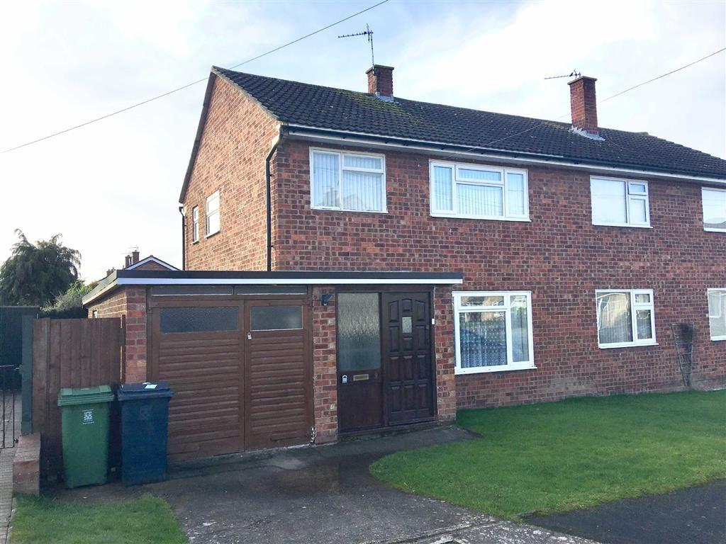 3 Bedrooms Semi Detached House for sale in Cressage Avenue, Heath Farm, Shrewsbury