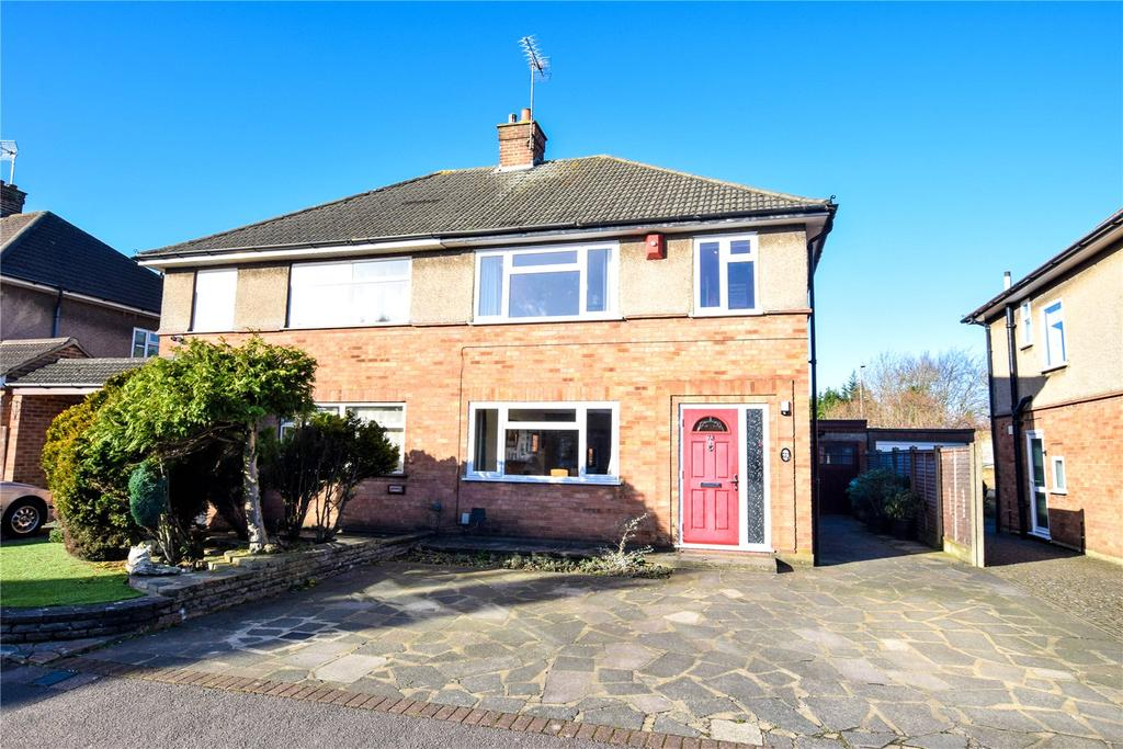 3 Bedrooms Semi Detached House for sale in Orbital Crescent, Watford, Hertfordshire, WD25