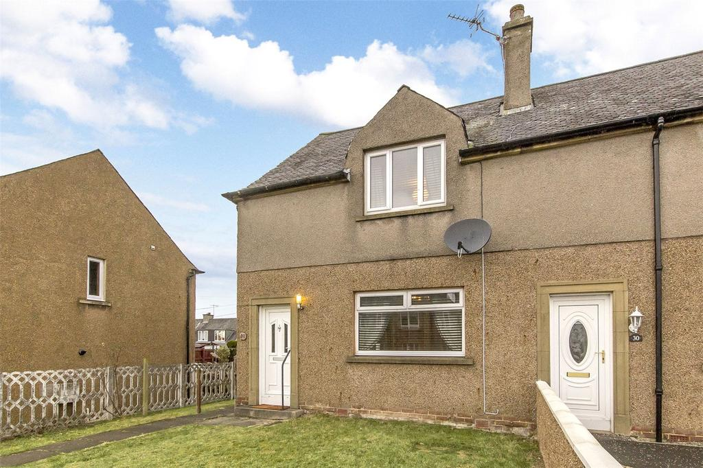 2 Bedrooms End Of Terrace House for sale in 32 Braehead Road, Stirling, Stirlingshire, FK7