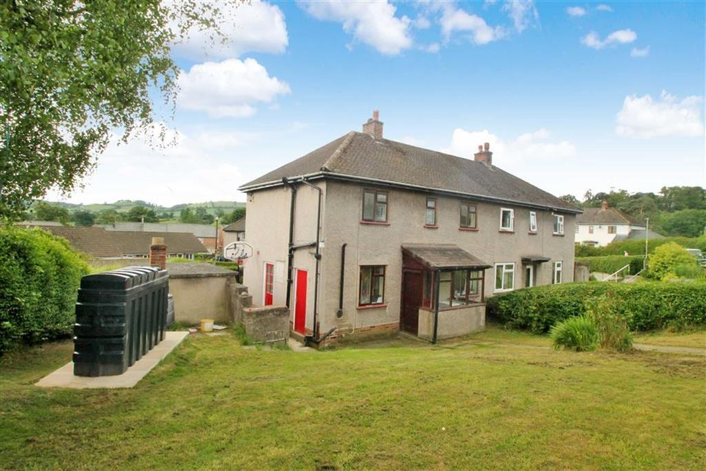 3 Bedrooms Semi Detached House for sale in Maes Y Derwen, Llanrhaeadr