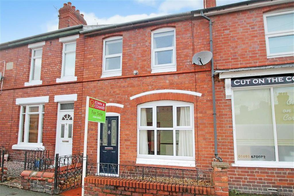 2 Bedrooms Terraced House for sale in York Street, Oswestry