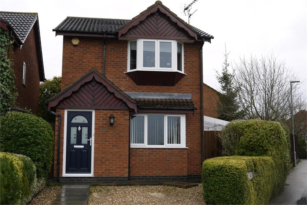 3 Bedrooms Detached House for sale in Machin Drive, Broughton Astley, Leicestershire