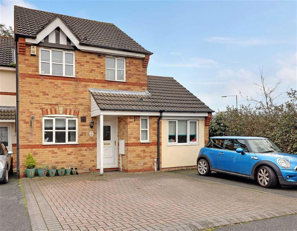 3 Bedrooms House for sale in Whitethorn Close, Hednesford, Staffordshire