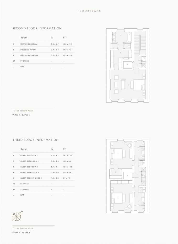 Floorplan 6 of 6: 2nd/3rd Floor